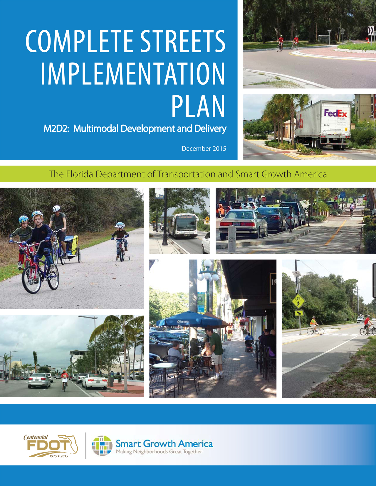FDOT's new Complete Streets implementation plan will take policy into practice
