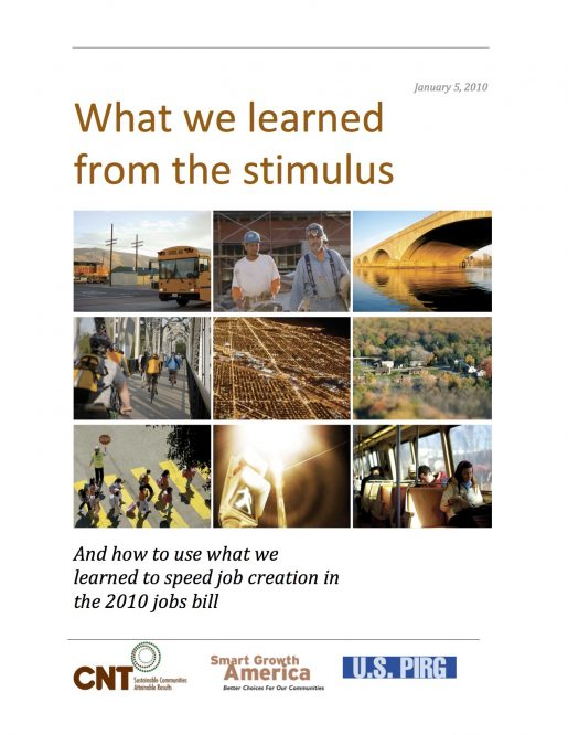 What We Learned from the Stimulus