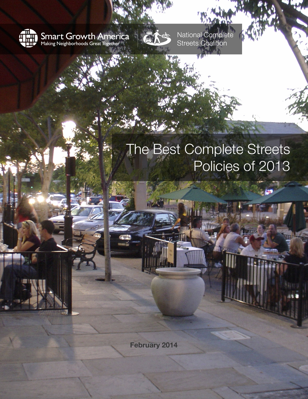 Best Complete Streets Policies of 2013