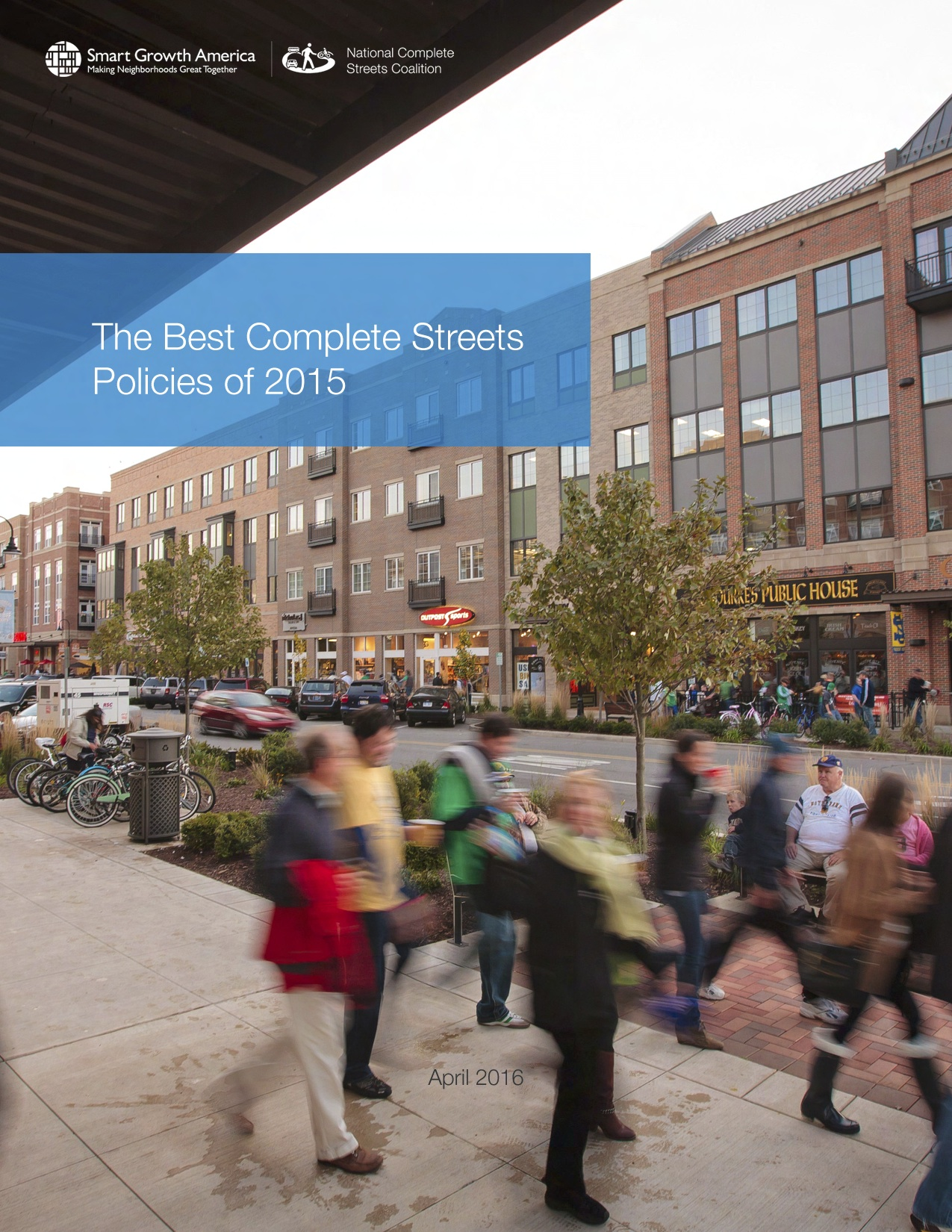 Best Complete Streets Policies Of 2015 Smart Growth America