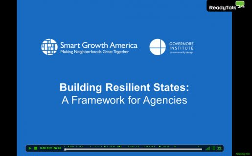 Building Resilient States: A Framework for Agencies Webinar