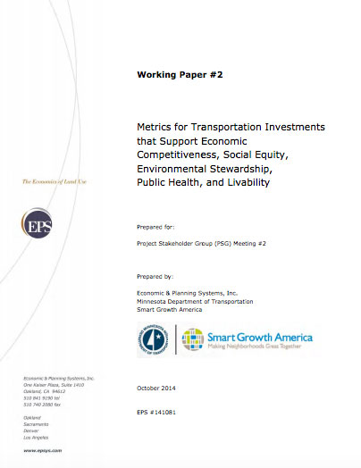 DOT Innovation in Minnesota: 2014 Working Paper 2