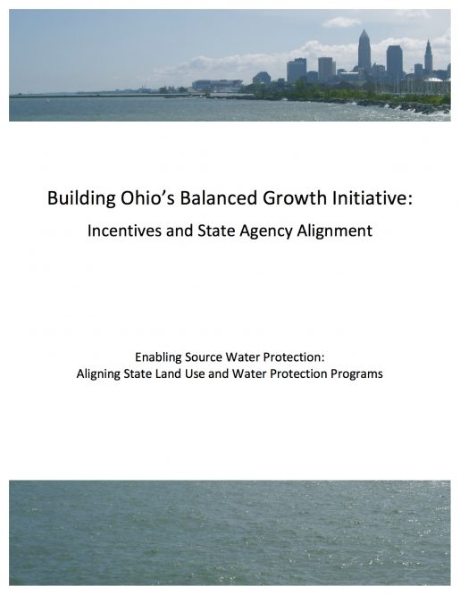 Building Ohio's Balanced Growth Initiative: Incentives and State Agency Alignment