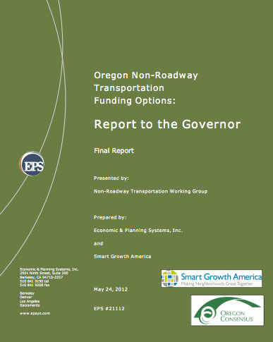Oregon Non-Roadway Transportation Funding Options