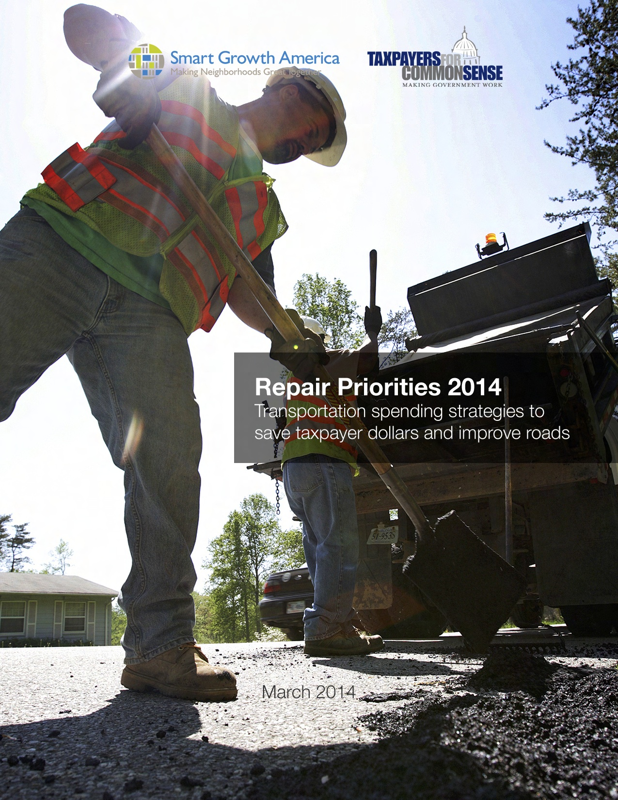 Repair Priorities 2014: Transportation strategies to improve road conditions and state fiscal outlooks