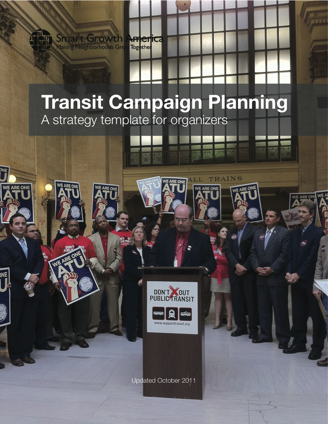 Transit Campaign Planning: A strategy template for organizers