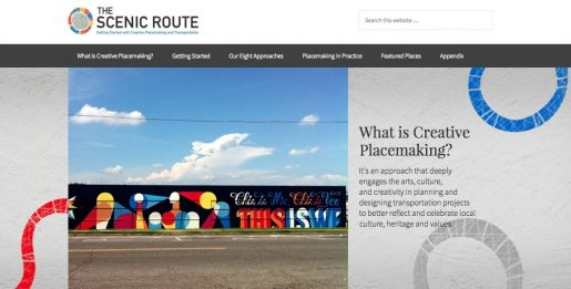 The Scenic Route: Getting Started with Creative Placemaking in Transportation