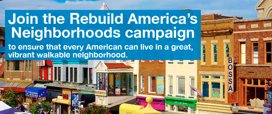 As House unveils new tax plan, LOCUS launches Rebuild America's Neighborhoods campaign