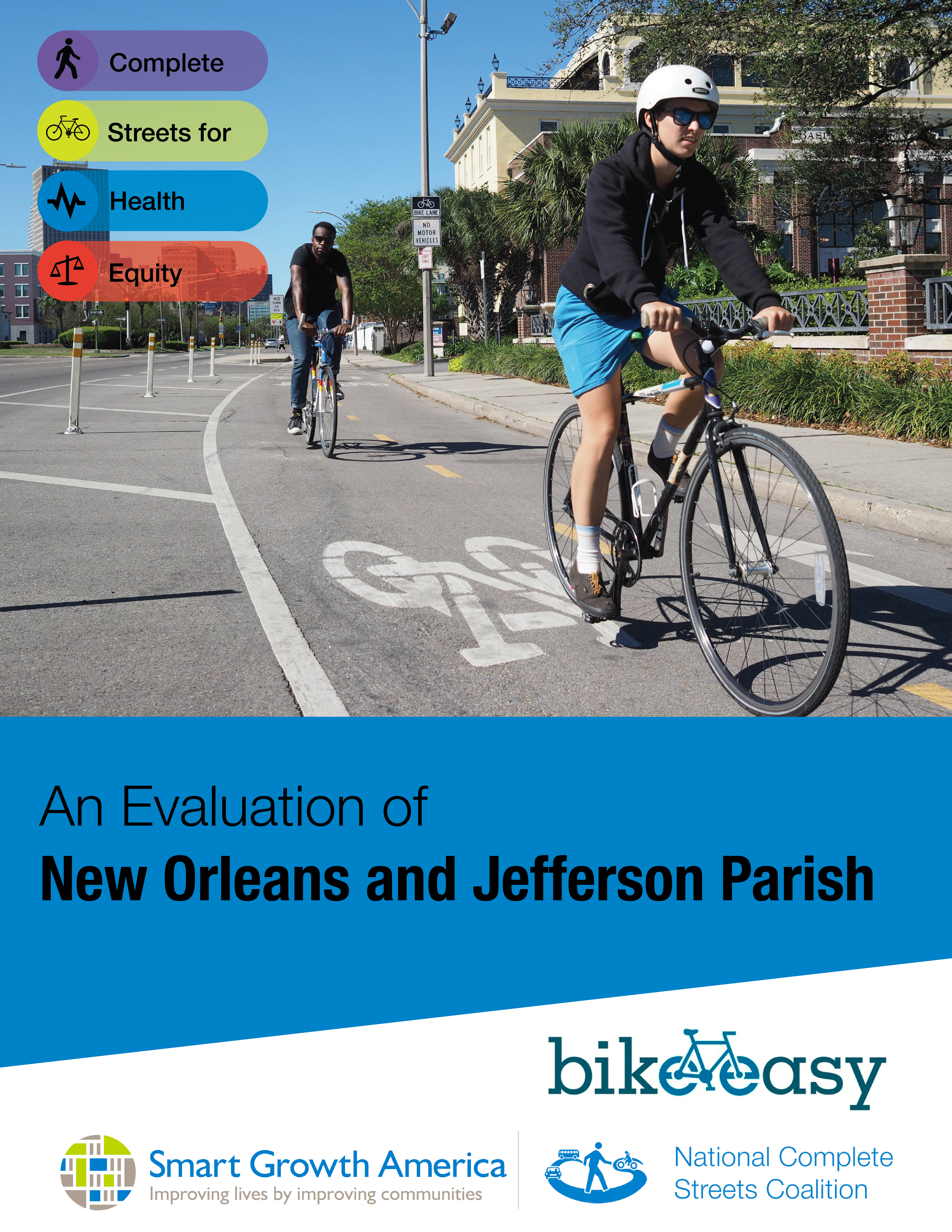 Complete Streets for Health Equity: An Evaluation of New Orleans and Jefferson Parish