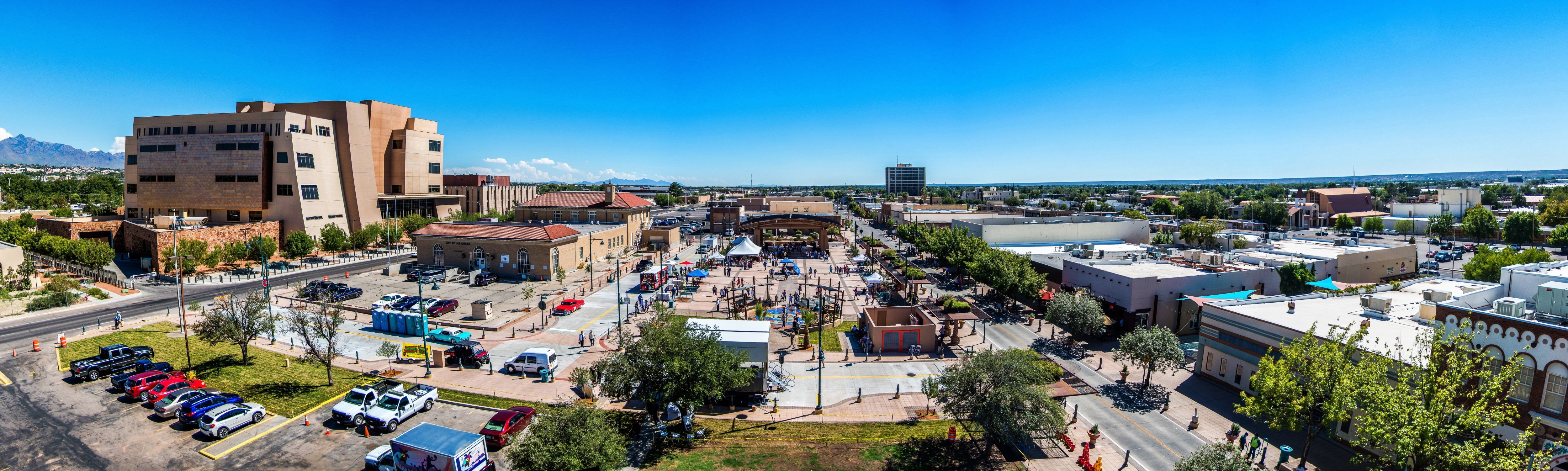 View of Plaza de Las Cruces. Photo courtesy of Victor Gibbs.