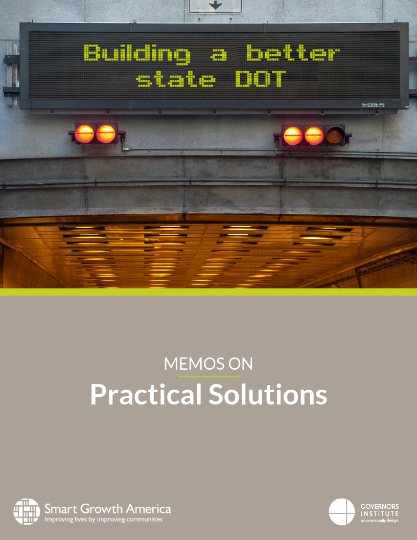 Building a better state DOT