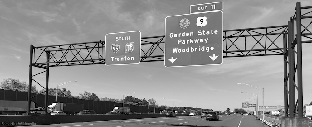 The Garden State Parkway.