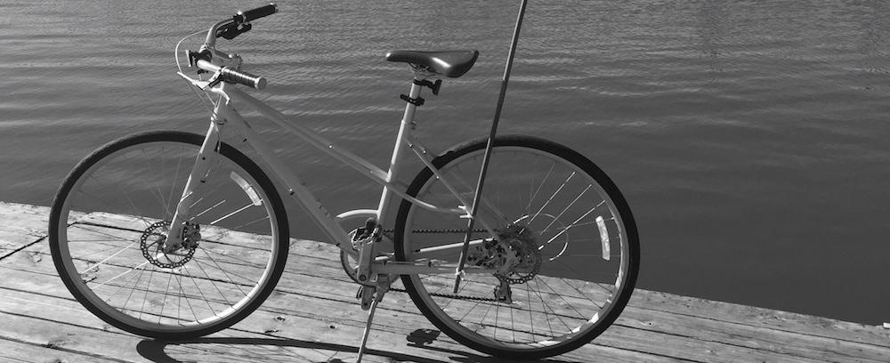 Cole Zaccaro's bike, before it was crushed.