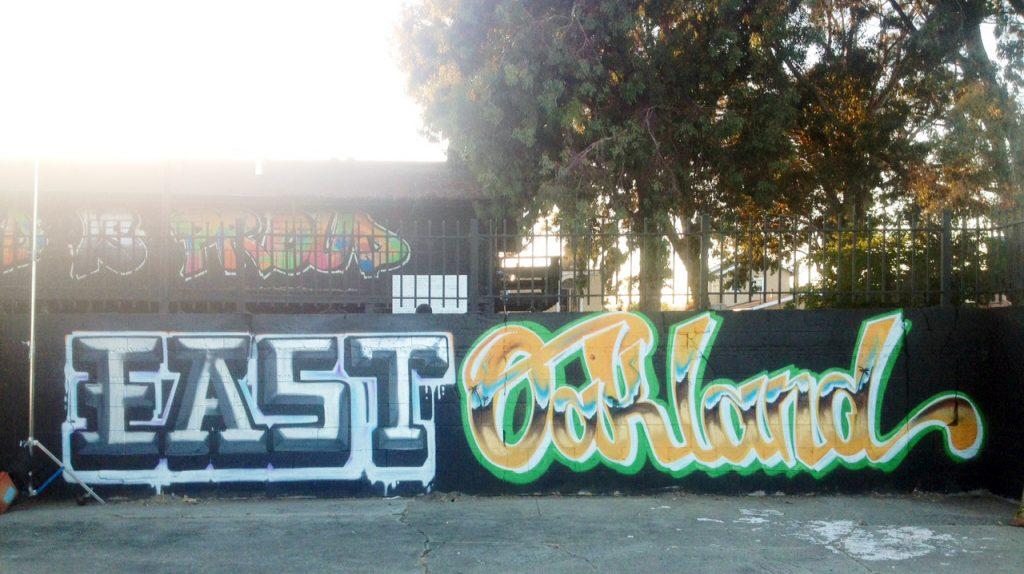 Mural in East Oakland.