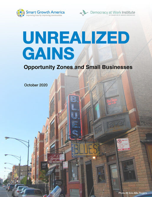 Unrealized Gains: Opportunity Zones and Small Businesses